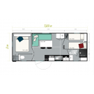 Mobil Home IRM TITANIA - 2 chambres - 2020