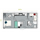 Mobil Home IRM LIFE 2 chambres - 2020