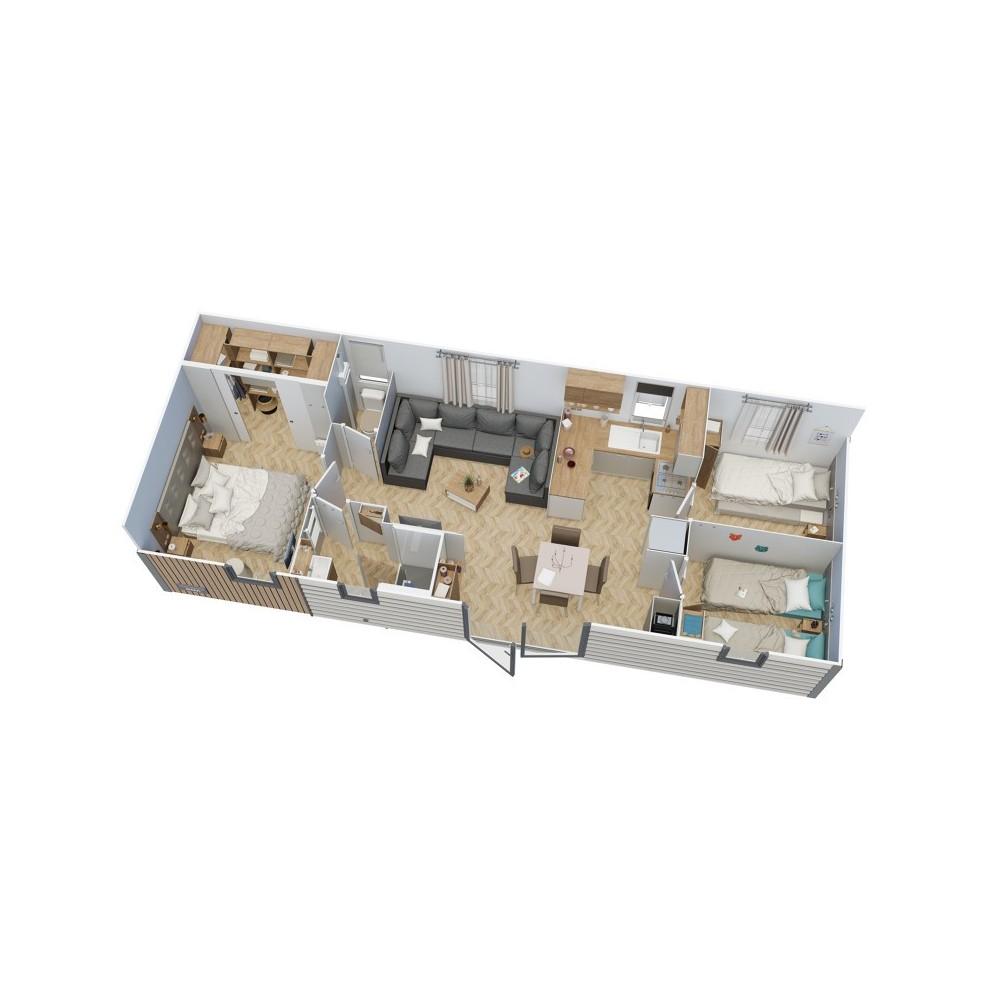Mobil Home IRM PETIT PARADIS 3 chambres - 2020