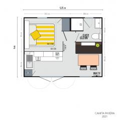 Mobil Home IRM Cahita Riviera - 1 chambre - 2021